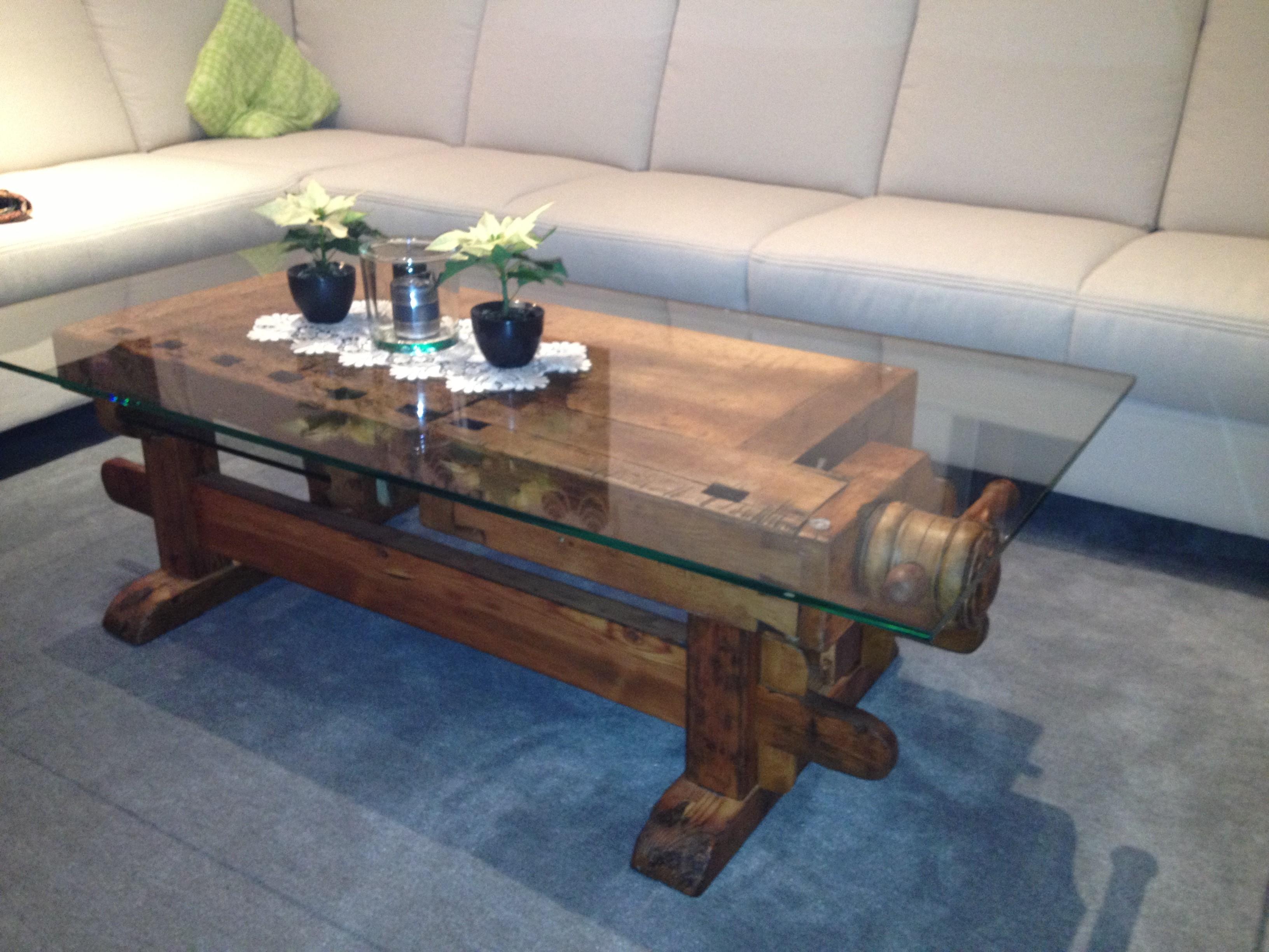 Tisch Hobelbank 2